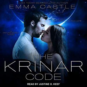 The Krinar Code: A Krinar World Novel Audiobook By Emma Castle cover art