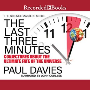 The Last Three Minutes Audiobook By Paul Davies cover art