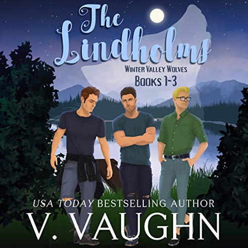 The Lindholms - Winter Valley Wolves: Werewolf Romance Audiobook By V. Vaughn cover art