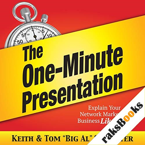"The One-Minute Presentation Audiobook By Keith Schreiter, Tom ""Big Al"" Schreiter cover art"
