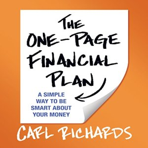 The One-Page Financial Plan Audiobook By Carl Richards cover art