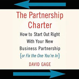The Partnership Charter Audiobook By David Gage cover art
