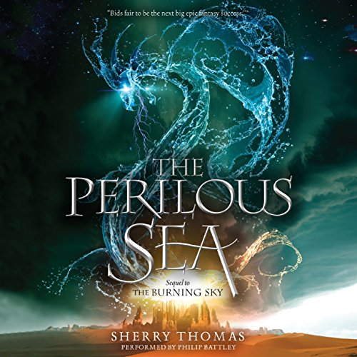 The Perilous Sea Audiobook By Sherry Thomas cover art