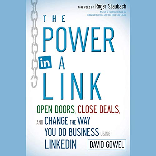 The Power in a Link Audiobook By Dave Gowel cover art