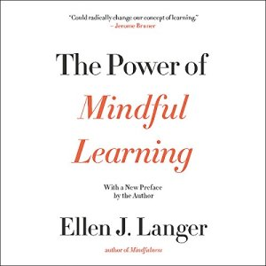 The Power of Mindful Learning Audiobook By Ellen J. Langer cover art