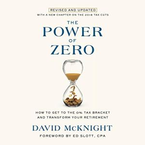 The Power of Zero, Revised and Updated Audiobook By David McKnight, Ed Slott - foreword cover art