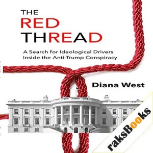 The Red Thread Audiobook By Diana West cover art