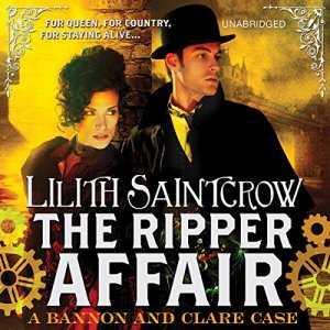 The Ripper Affair Audiobook By Lilith Saintcrow cover art