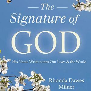The Signature of God Audiobook By Rhonda Milner cover art