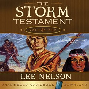 The Storm Testament I Audiobook By Lee Nelson cover art