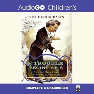 The Trouble Begins at 8 Audiobook By Sid Fleischman cover art