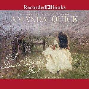 'Til Death Do Us Part Audiobook By Amanda Quick cover art