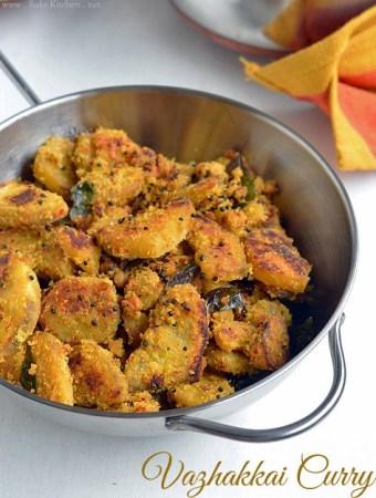 vazhakkai curry