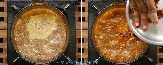 how to make chidambaram brinjal gothsu 8