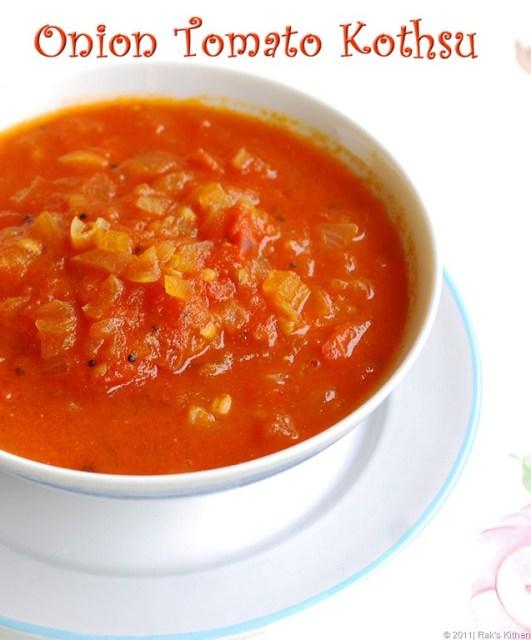 Onion-tomato-kothsu