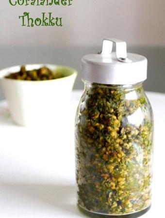 coriander-leaves-podi-recipe