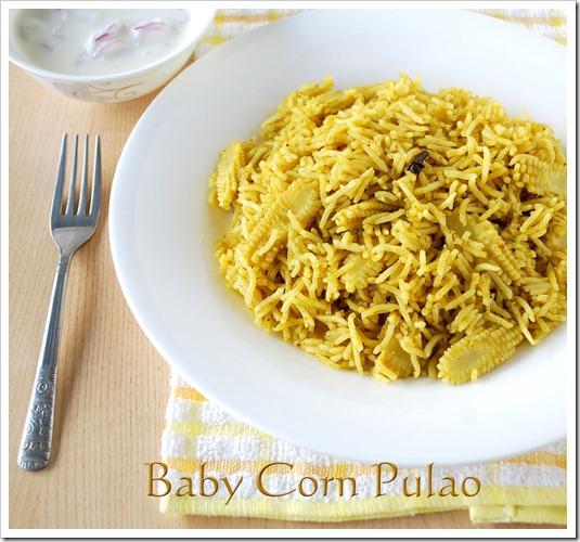 baby-corn-pulao