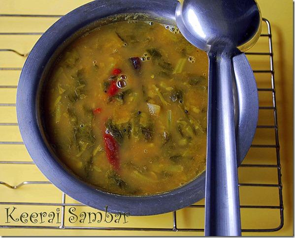 Keerai-sambar-recipe