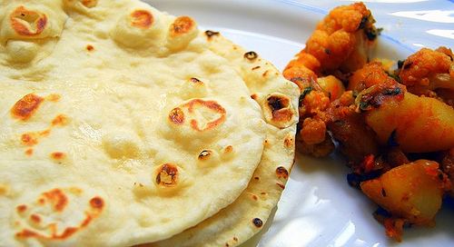Naan-without-yeast