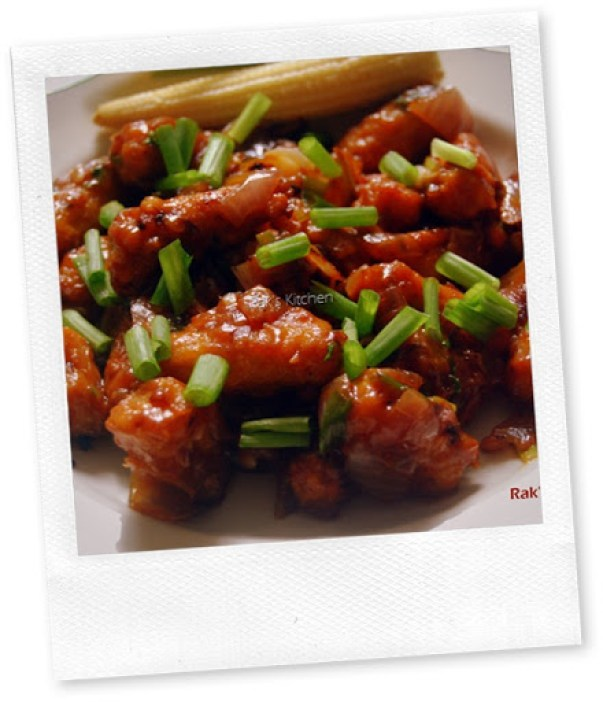 Baby corn manchurian recipe