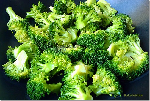 parboiled broccoli