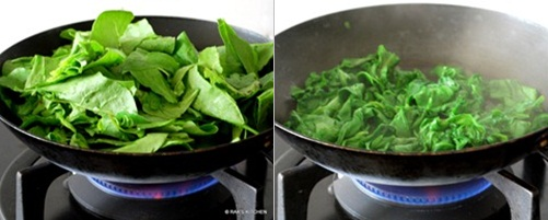 step 2 palak paneer recipe