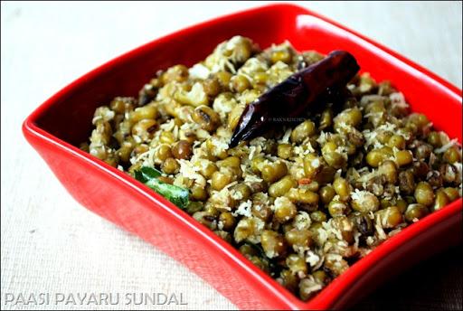 pachai payaru sweet sundal 1