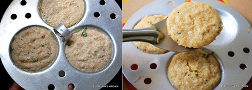 How to make oats idli 4