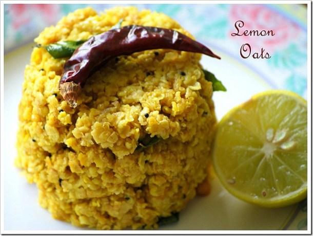 lemon-oats-breakfast-indian