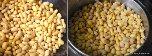 soya bean step1