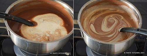 eggless chocolate mousse 5