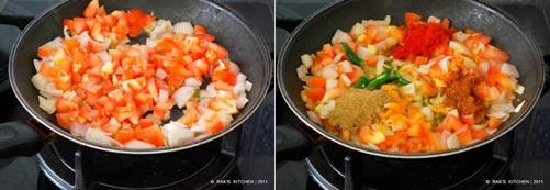 How to make kadai paneer step2