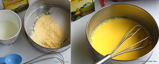 how to make eggless french toast step1
