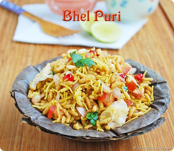 bhel puri recipe