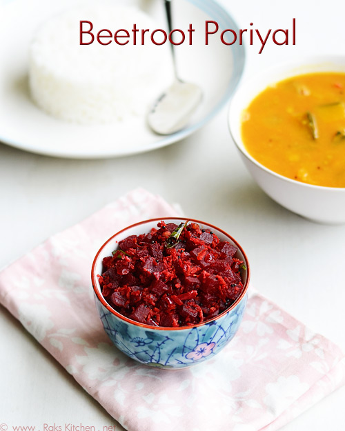 beetroot-poriyal-recipe
