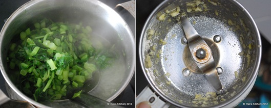 how to make keerai masiyal 1