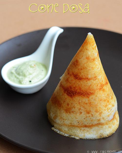 how to make cone dosa