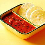 Lemon red-chilli chutney recipe
