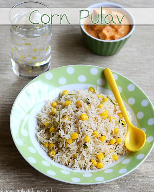 corn-pulav-recipe