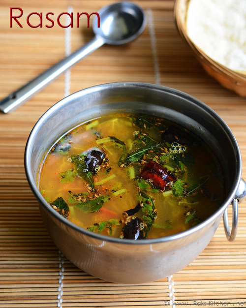 Easy rasam recipe - South Indian