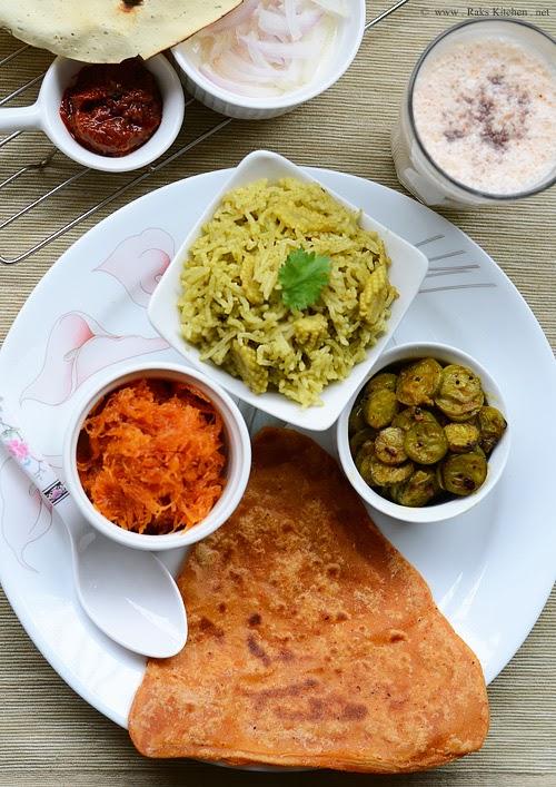Lunch Menu 20 North Indian Lunch Ideas Raks Kitchen