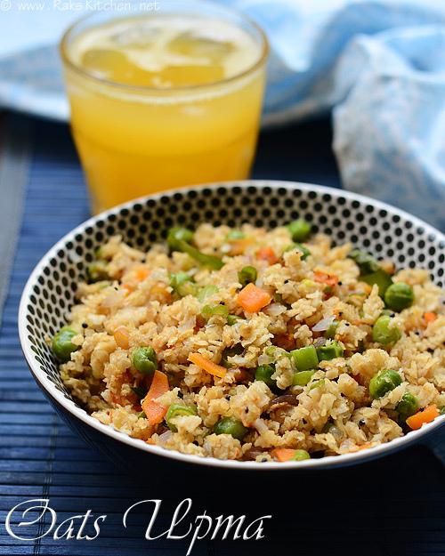 How to make oats upma