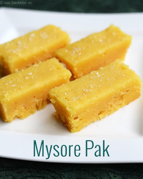 mysore-pak recipe