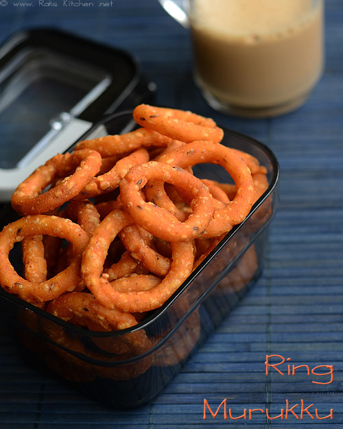 ring-murukku recipe