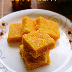 Carrot burfi recipe