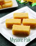 traditional-mysore-pak recipe