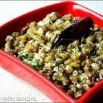 Sweet sundal recipe