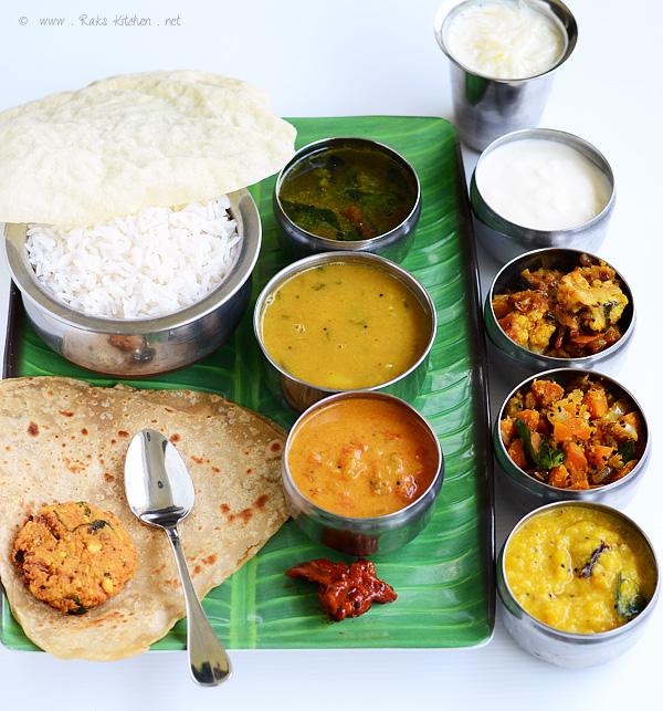 Lunch Menu 27 Full Meals Raks Kitchen