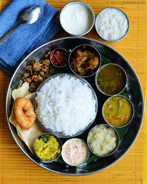 south indian lunch recipes