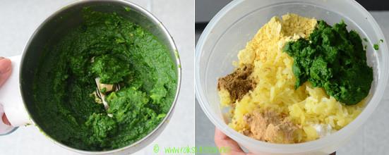 Hara bhara kabab recipe step 4